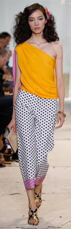 Diane Von Furstenberg 2016春夏纽约时装周