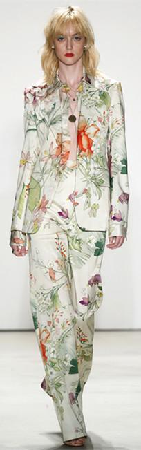 Jenny Packham 2016春夏纽约时装周