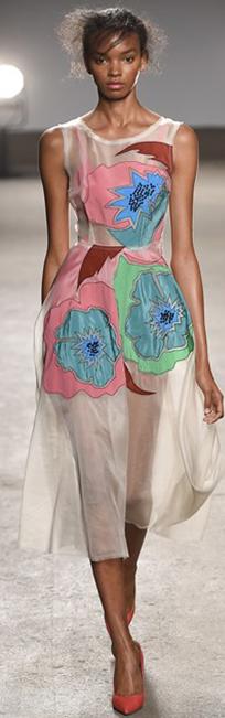 Tracy Reese 2016春夏纽约时装周