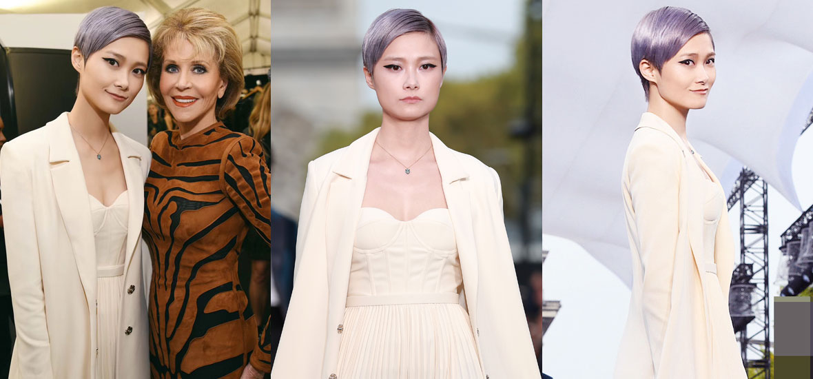史上最时尚的国庆节,李宇等50名国际巨星在香榭丽舍走秀!