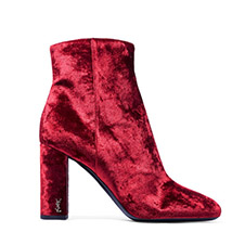 Saint Laurent#天鹅绒踝靴