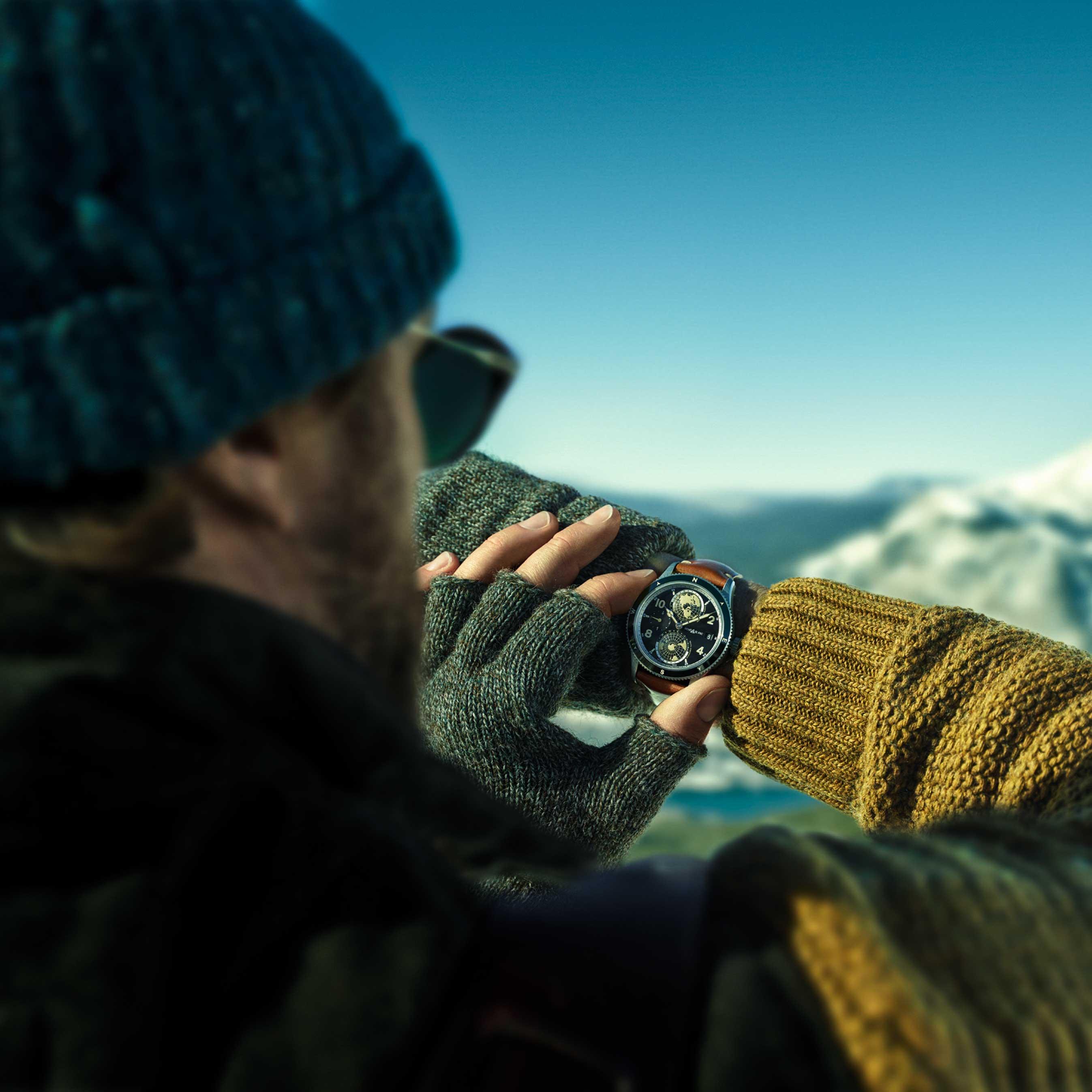 2018SIHH 全新万宝龙1858系列腕表:致敬山峰探险精神