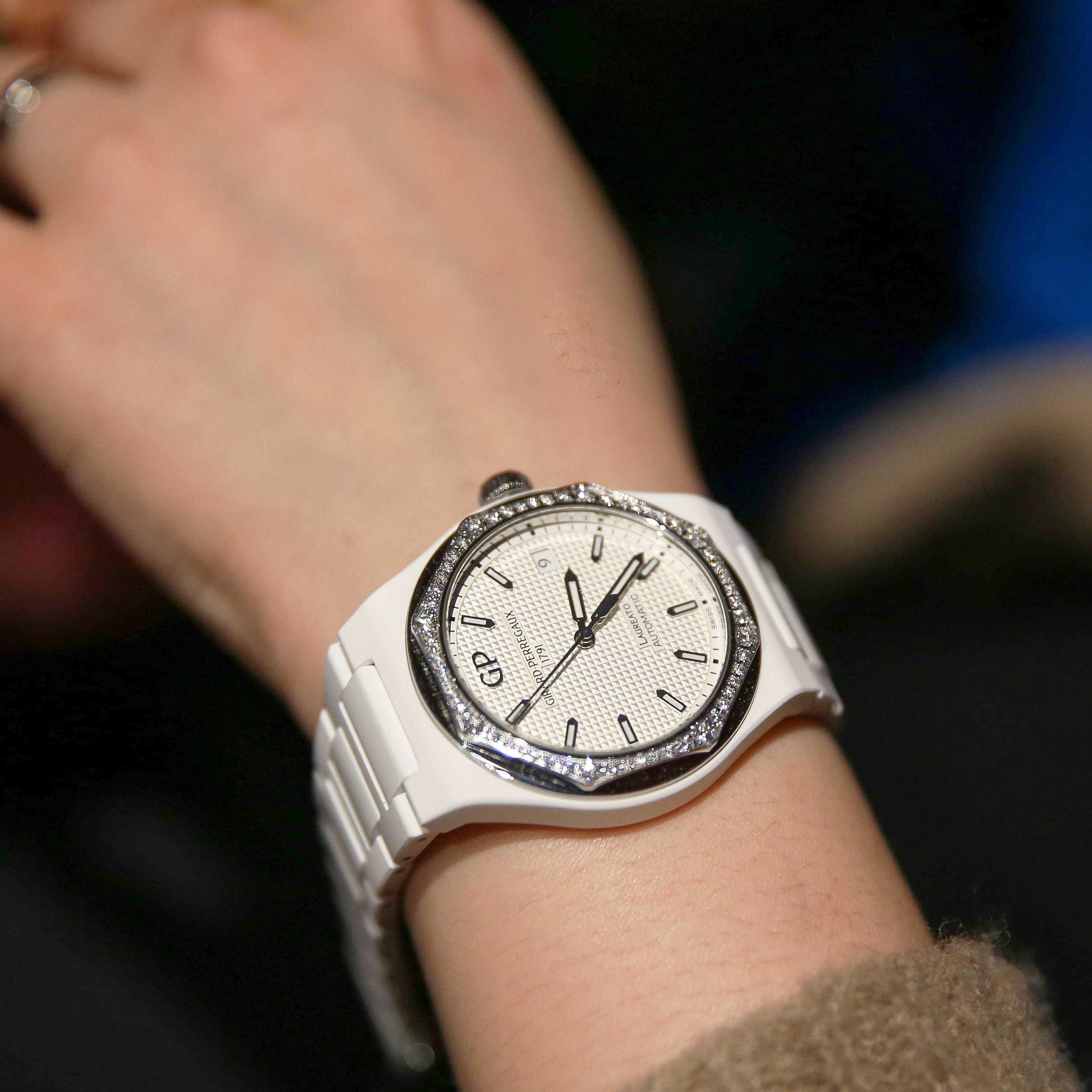 芝柏表 Laureato Ceramics桂冠系列陶瓷腕表