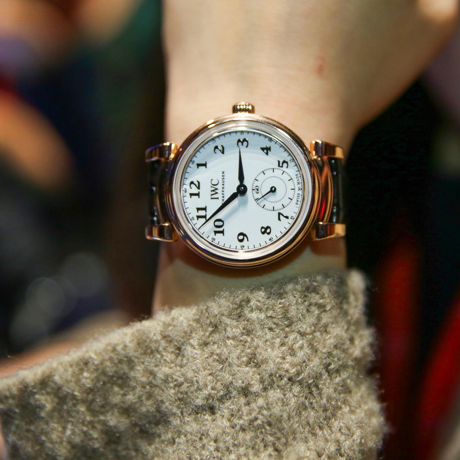 IWC万国表达文西系列150周年纪念女士腕表