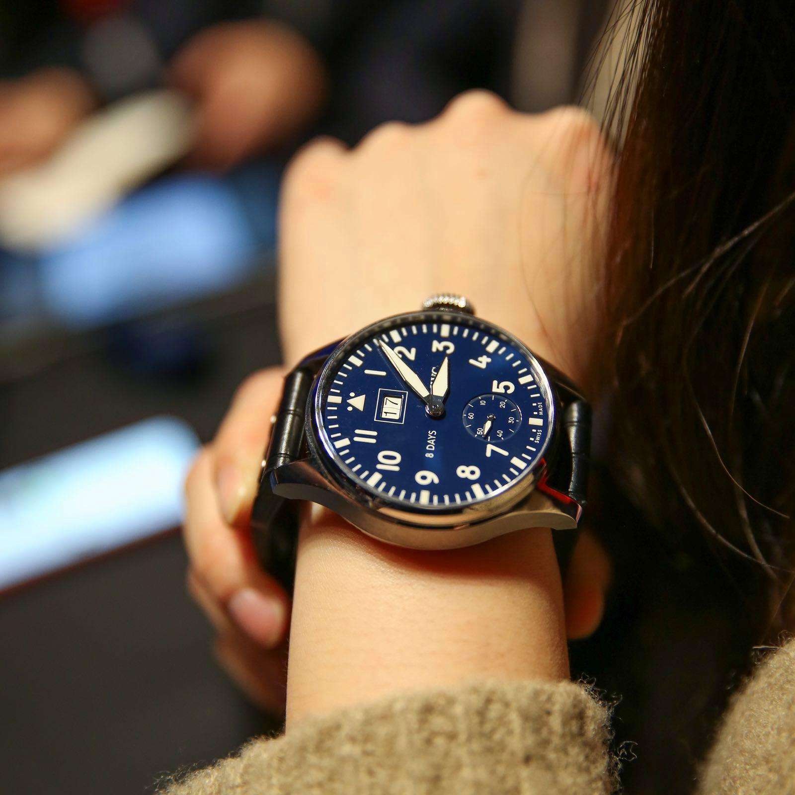 IWC万国表大型飞行员系列150周年纪念腕表