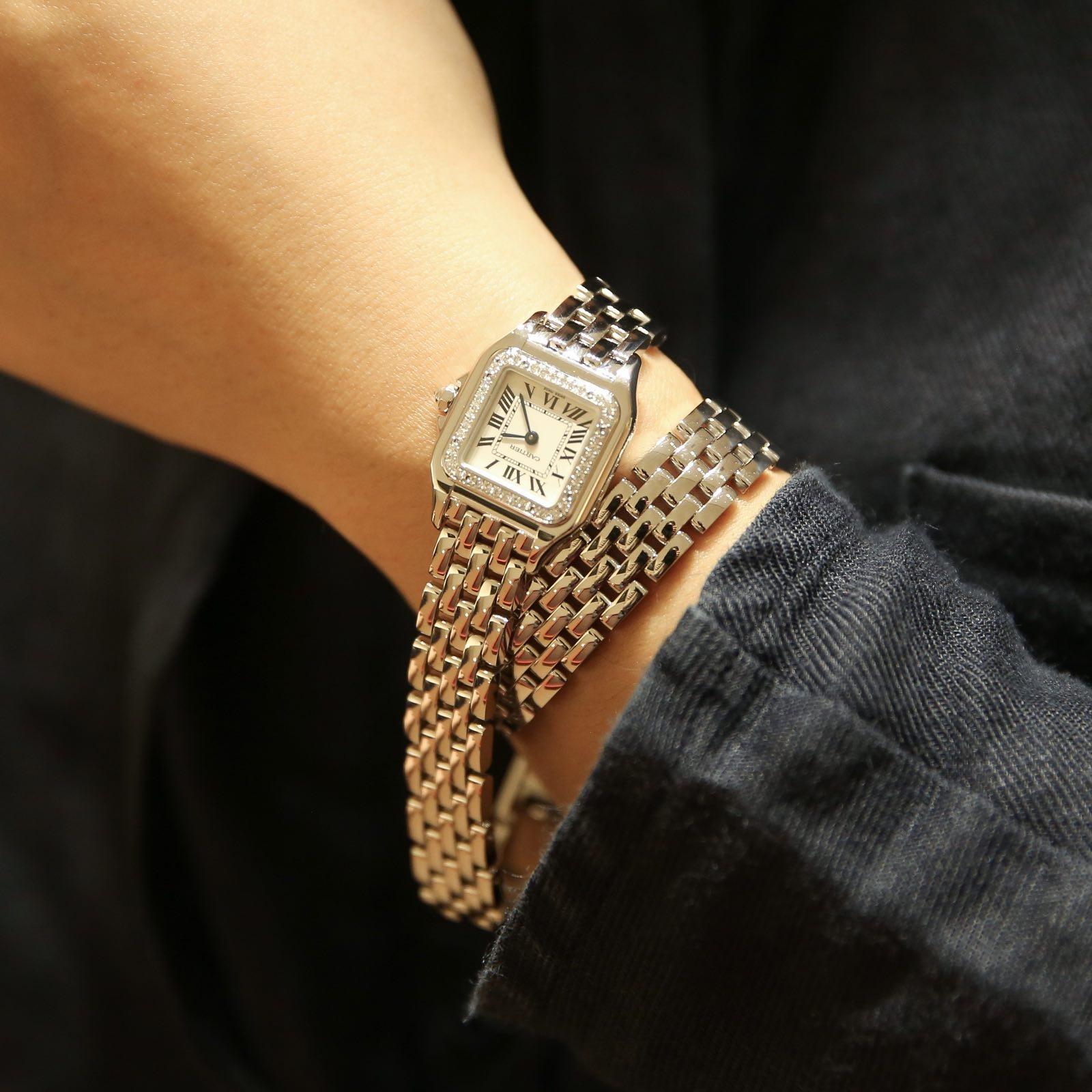 卡地亚 Panthère de Cartier猎豹双圈腕表