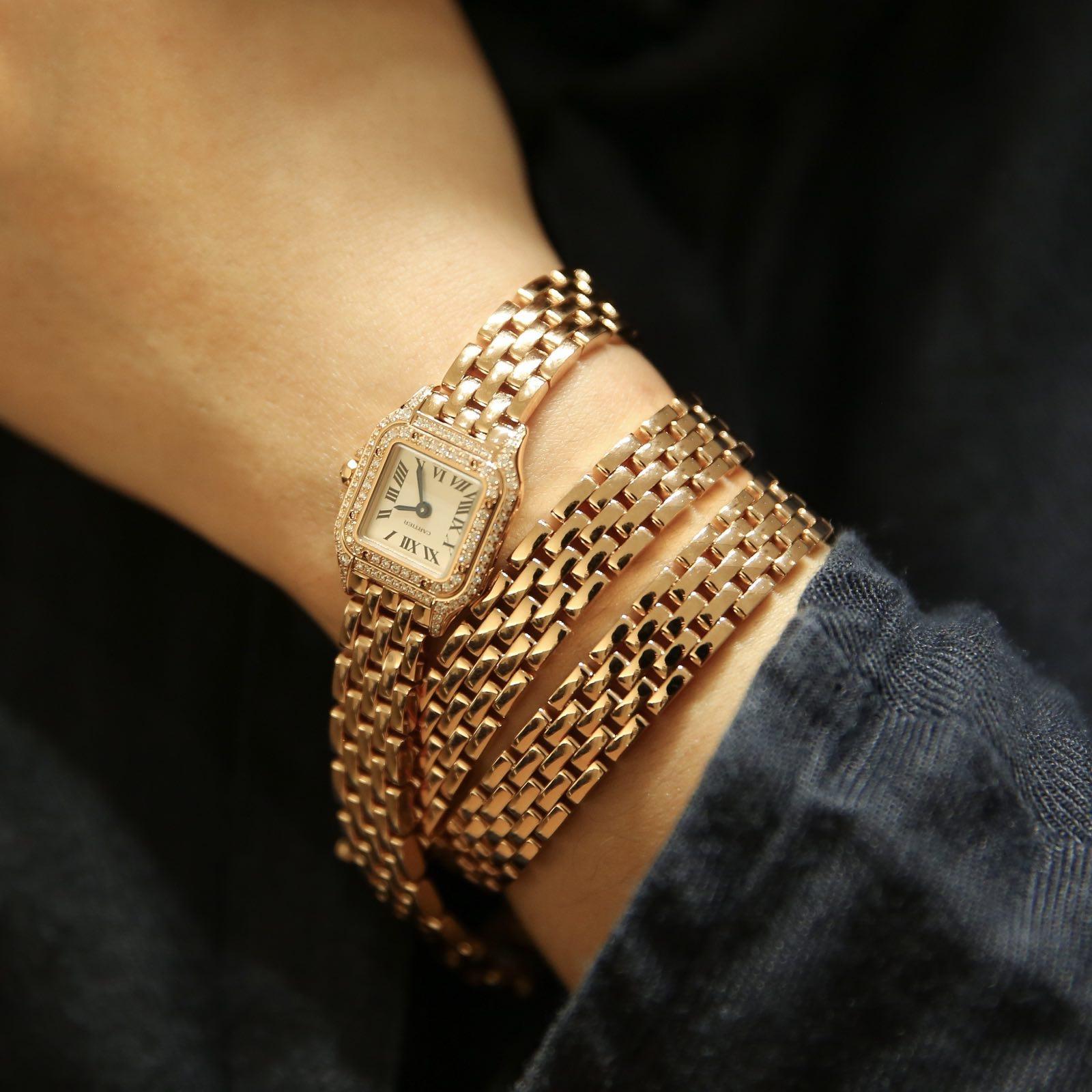 卡地亚 Panthère de Cartier猎豹三圈腕表