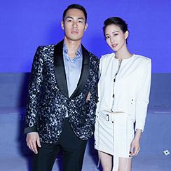 杨祐宁和张钧甯在纽约