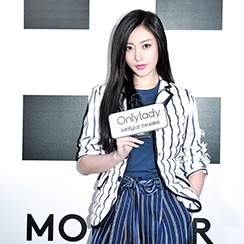 张天爱亮相Moncler 2018秋冬时装秀