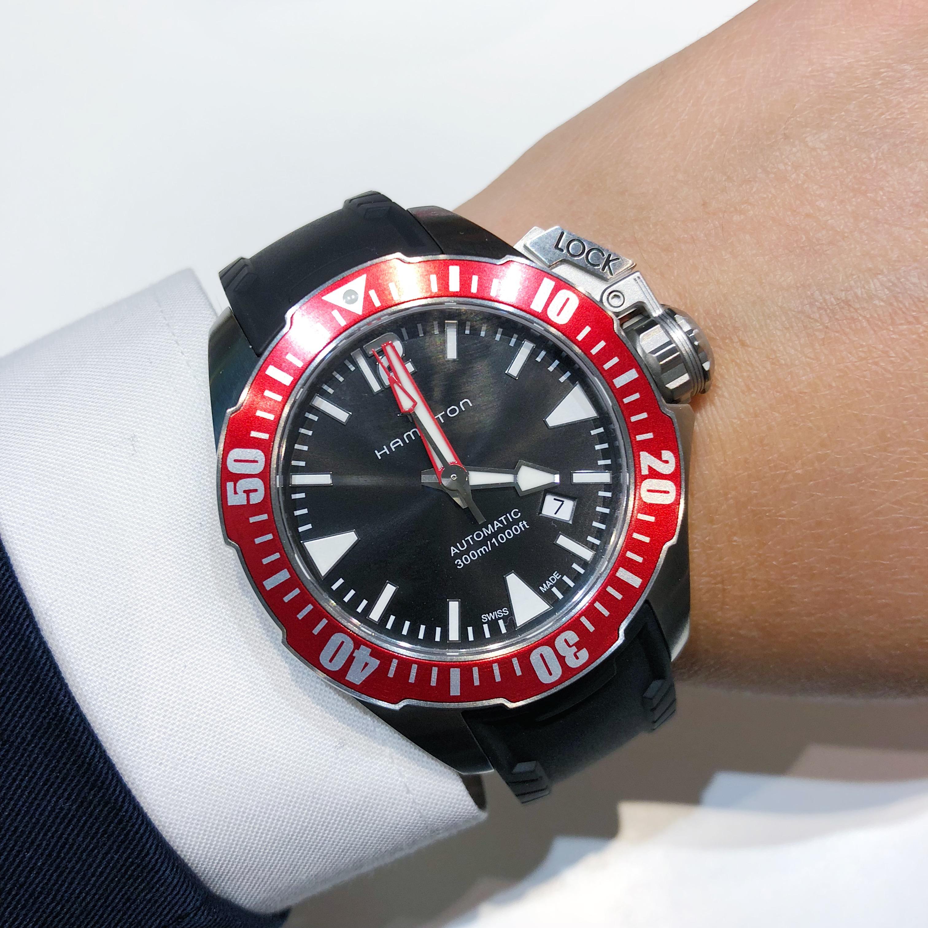 汉米尔顿新款腕表