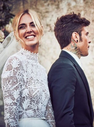 时尚博主Chiara Ferragni的奢华婚礼