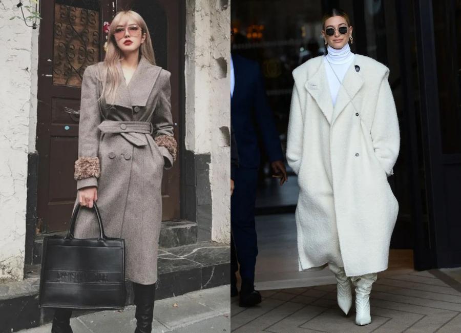 显头小的翻领大衣怎么穿!