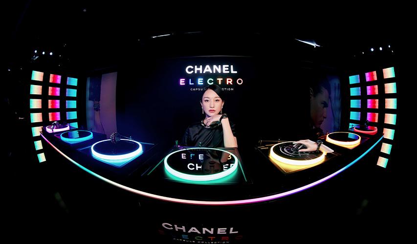 CHANEL 明星着装 | 香奈儿品牌形象大使周迅等出席 CHANEL ELECTRO 腕表发布派对