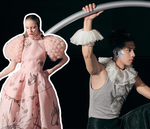 還在沉浸式?夏姿·陳 SHIATZY CHEN的馬戲表演真的燥起來了!