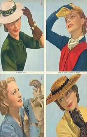 Vintage的优雅韵味被一副手套