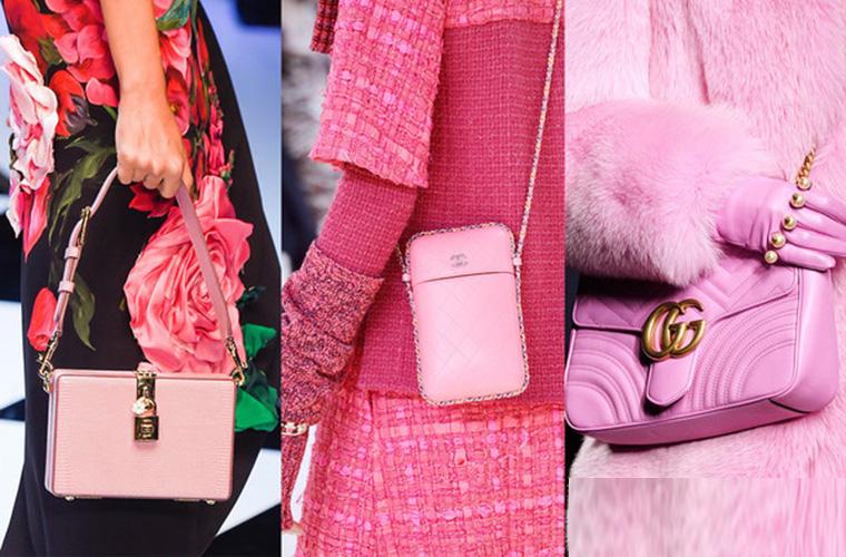 粉色包潮洗卷今秋 该来一个粉色包包点燃你的造型了