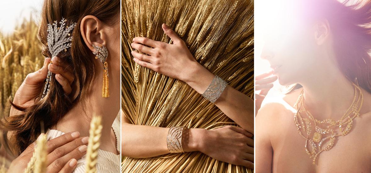满眼金灿灿的麦穗 LES BLéS DE CHANEL 臻品珠宝系列
