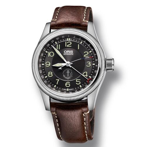 豪利时推出限量版大表冠腕表,致敬法国戴高乐号航母