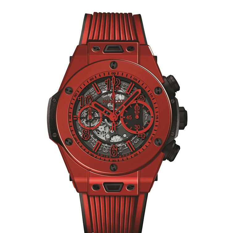 宇舶表BIG BANG UNICO红色魔力 首款明亮红色陶瓷腕表再次超越想象