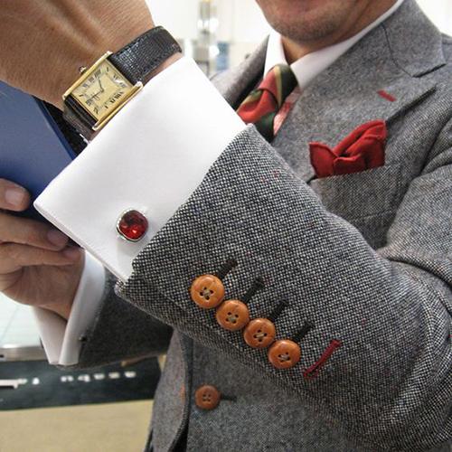 15款可爱袖扣散发不一样的男士魅力