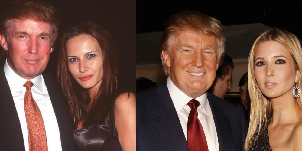 川普成为新一任美国总统 但站在新总统背后的两个女人同样瞩目!