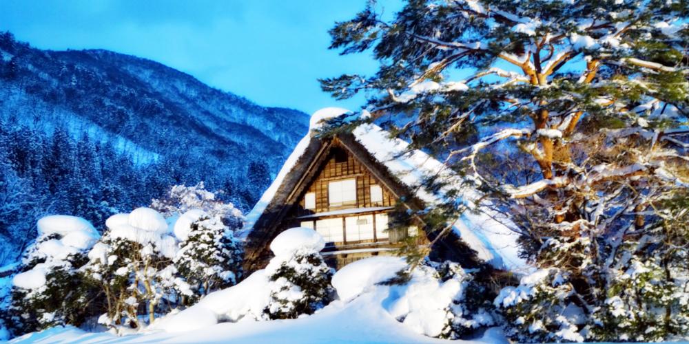 去日本玩雪不止北海道!这里还有个雪白的童话世界~